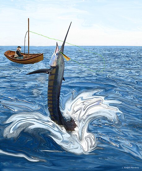 Old man and the Sailfish by RalphMartens