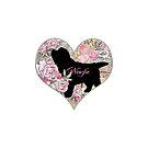 Newfie Puppy (no background) by Christine Mullis