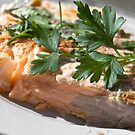 Baked Red Salmon by yurix