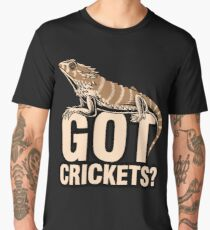 Bearded Dragon Got Cricket keeper shirt funny gift Men's Premium T-Shirt