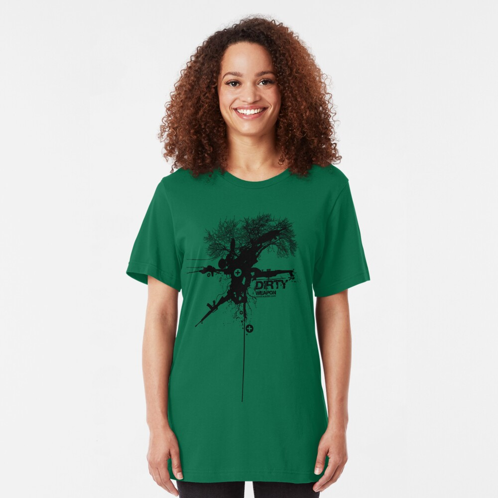 Dirty Weapon Slim Fit T-Shirt