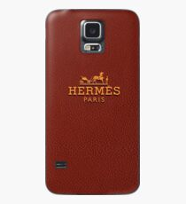 hermes brown Case/Skin for Samsung Galaxy