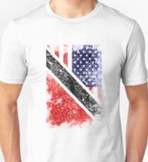 Trinidad American Flag  Trinidad and Tobago Unisex T-Shirt