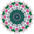 Spring Mandala by Juliet Chase