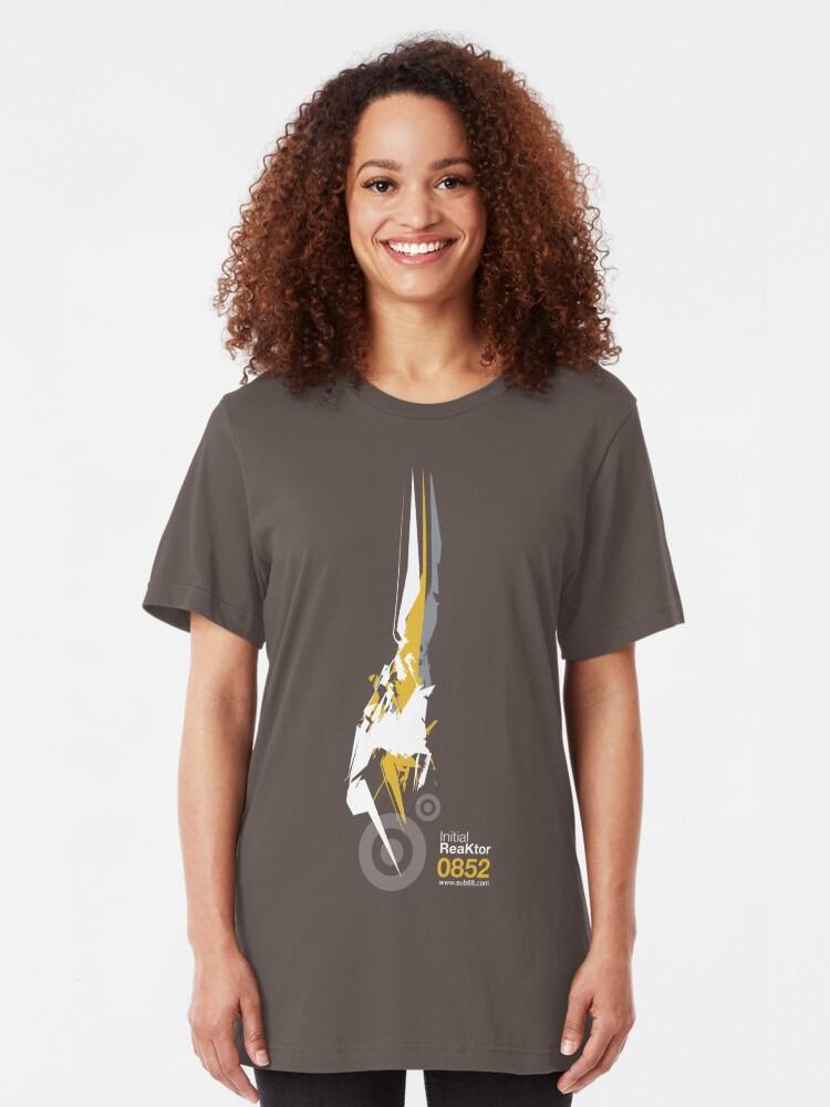 Alternate view of Initial ReaKtor Slim Fit T-Shirt
