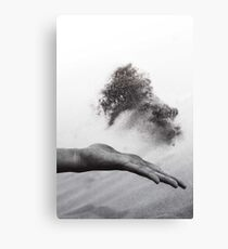 Hand of time Canvas Print