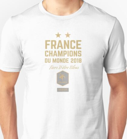 France World Cup 2018 Shirts - France World Cup Champions Shirts - FIFA World Cup Champion 2018 Products  T-Shirt
