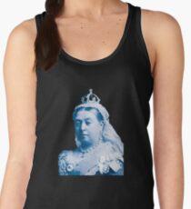 Queen Victoria Blue Image Women's Tank Top
