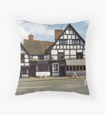 Ye Olde Anchor Inn and Restaurant Throw Pillow