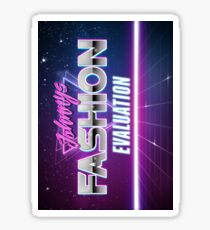 NCT Johnny's Fashion Evaluation Sticker
