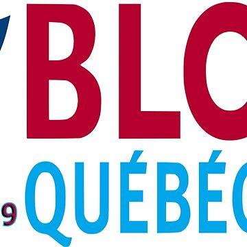 Bloc  Québécois 2019 Logo by Spacestuffplus
