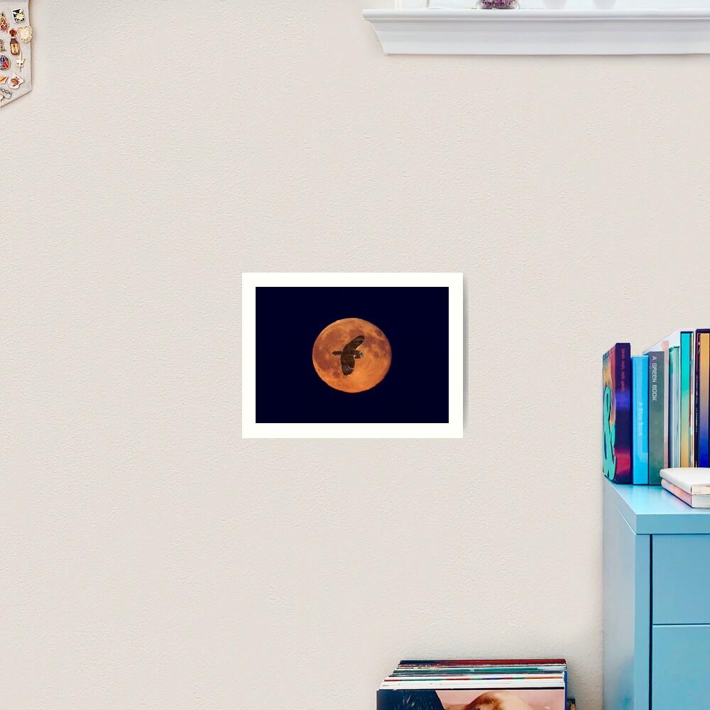 Moon Lighting Art Print