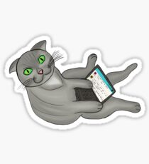 Cats Online  Sticker