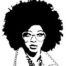 Illustration of girl with glasses by juancarlos55