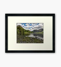Scafell Over Wastwater Framed Print