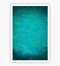 Turquoise Mermaid Glitter Sticker