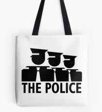 The Police Sign Version Tote Bag