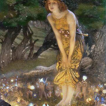 Midsummer Night's Dream Faeries Dancing  by dianegaddis