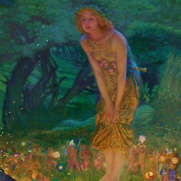 Midsummer Dream Fairy Circle by dianegaddis
