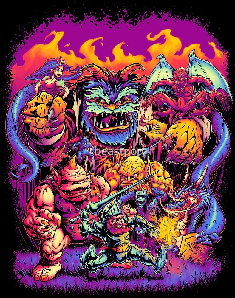 GHOSTS 'N' GOBLINS by beastpop