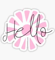 Hello sticker Sticker