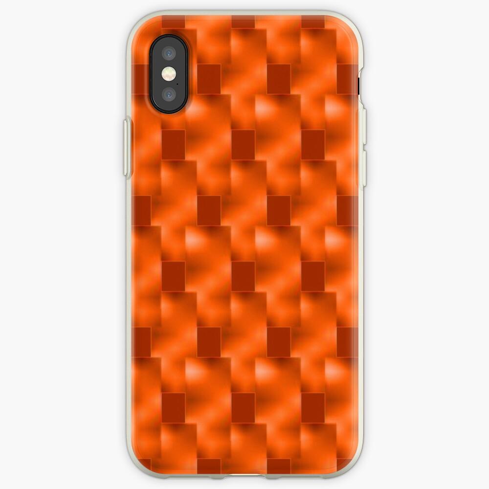 Rote Teller mit Rottönen iPhone-Hüllen & Cover