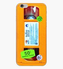 Vinilo o funda para iPhone Alfombra VHS Naranja Limo Ratas