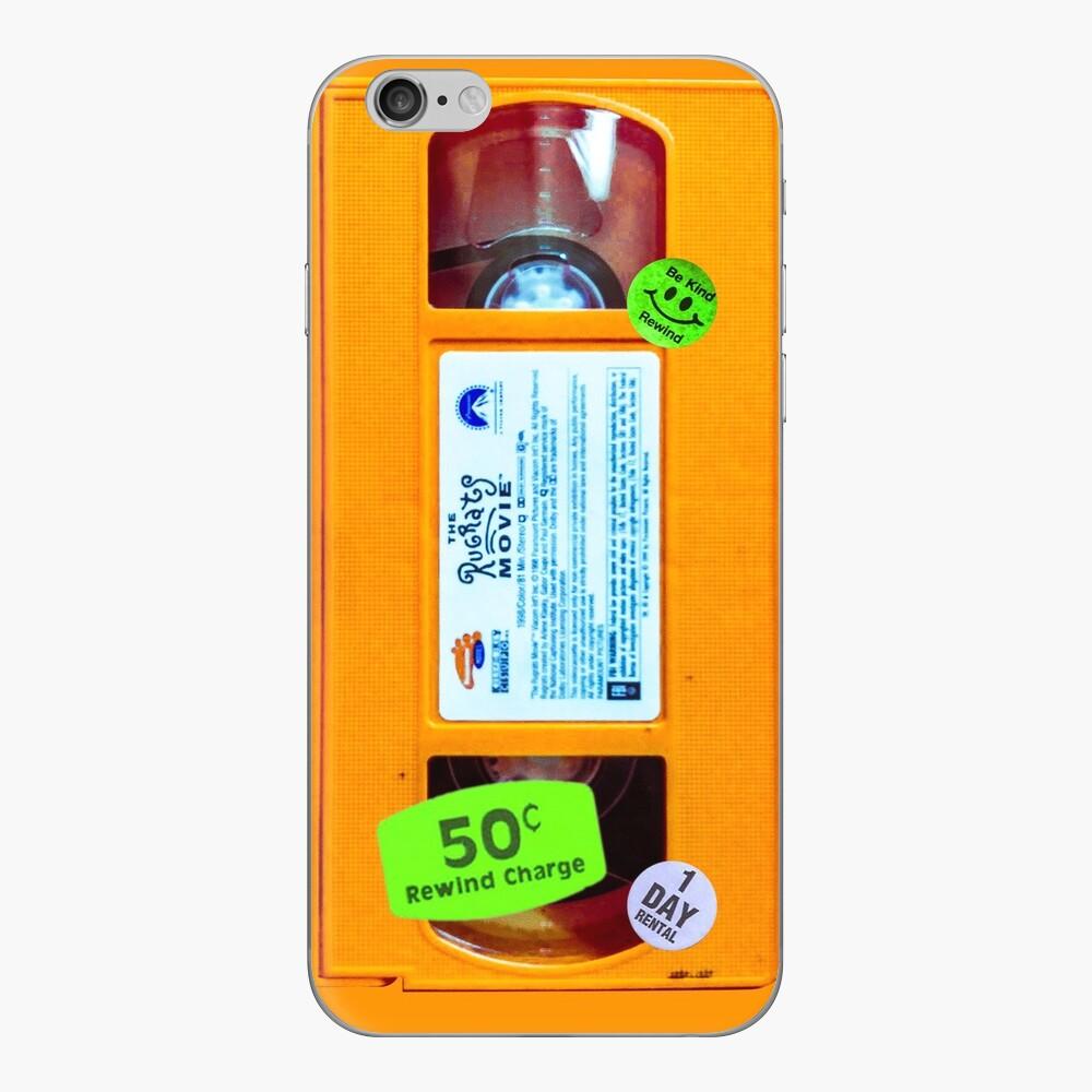 Slime Orange VHS Rug Rats iPhone-Hüllen & Cover