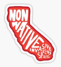 Califoria Non-Native Sticker