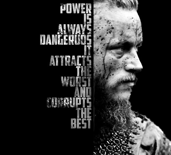 Vikings Ragnar's Quote Posters By Namarrhu Redbubble Magnificent Best Vikings Quotes