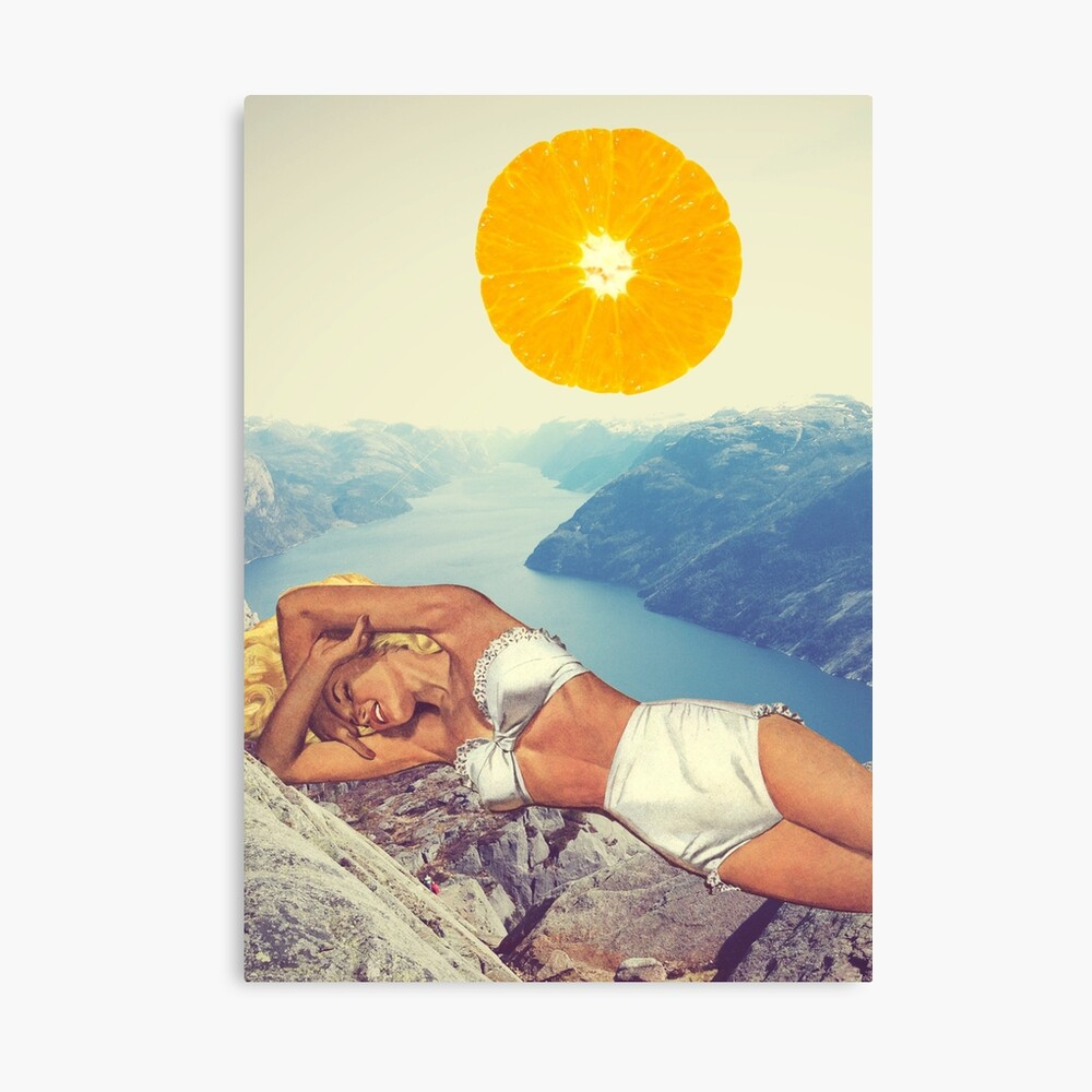 Vitamin Canvas Print