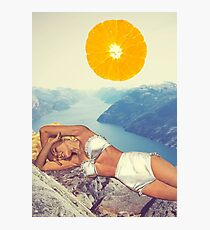 Vitamin Photographic Print