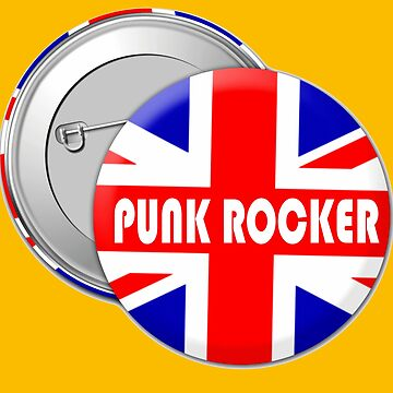 PUNK ROCKER-UNION JACK by IMPACTEES