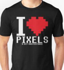 8-Bit Master Race Unisex T-Shirt