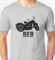 Rice Free Bikes Unisex T-Shirt