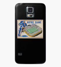 Notre Dame University Football 50s Case/Skin for Samsung Galaxy