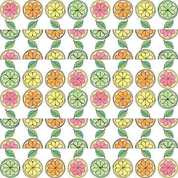 Citrus Ditzy Mini by amyelyse