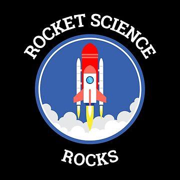 Rocket Science Rocks - Logo Design by AndroidZ