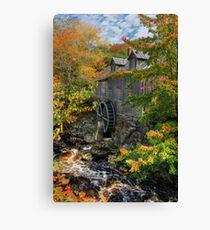 Fall at Sable River Mill Canvas Print