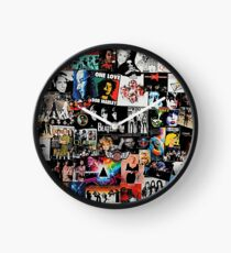Rock Collage Clock