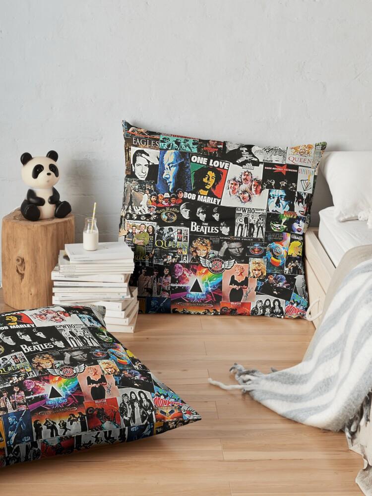 Alternate view of Rock Collage Floor Pillow
