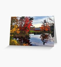 Fall on Waverley Road Greeting Card