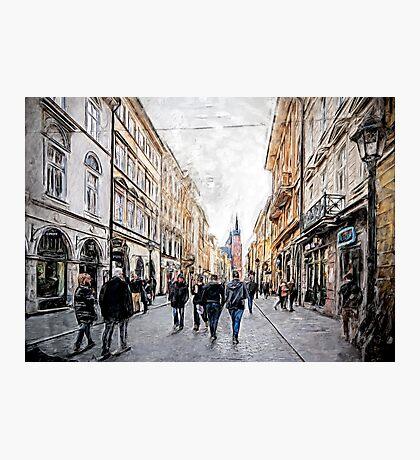 Krakow Florianska street #cracow #krakow Photographic Print