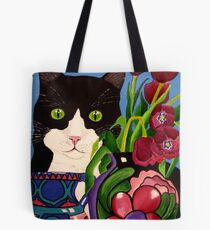 Tullulah and Tulips Tote Bag