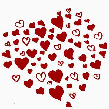 Heart Hearts by Xadrea