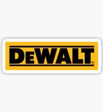 DeWalt Sticker
