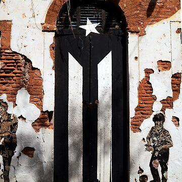 Puerto Rico Bandera Negra by erozzz
