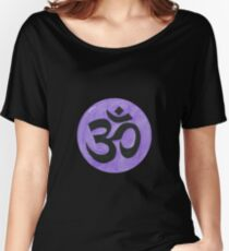 illustration of Om symbol  Women's Relaxed Fit T-Shirt