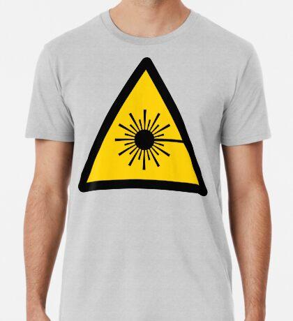 Warning Laser Radiation Premium T-Shirt
