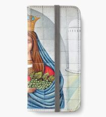 Our Lady of the Grapes Mexican Tile iPhone Wallet/Case/Skin